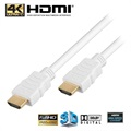 High Speed HDMI / HDMI Kabel - Hvid - 5m