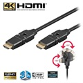 High Speed HDMI / HDMI Kabel - Roterende - 2m