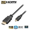 High Speed HDMI / Micro HDMI Kabel - 5m